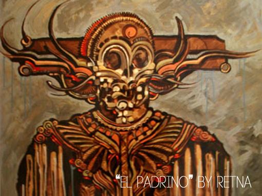 """Salutation"" An Art Group Exhibit el padrino"