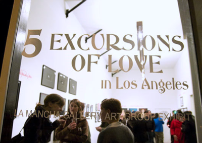"""5 Excursions Of Love in Los Angeles"": Art Group Exhibit"