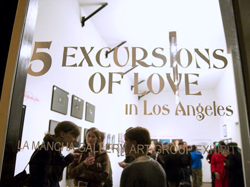 """5 Excursions Of Love in Los Angeles"": Art Group Exhibit  Portfolio 510382Featured"