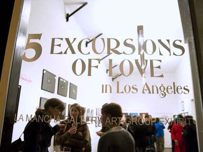 "Mid-City Arts  ""5 Excursions Of Love in Los Angeles"": Art Group Exhibit 700525"
