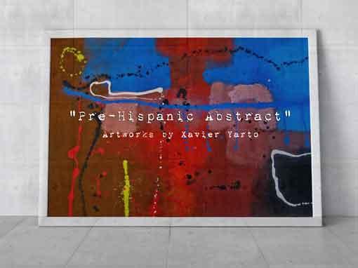Pre-Hispanic Abstract  Portfolio 510382Feature