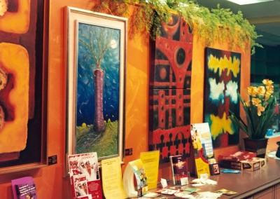 The Artwork of Hector Pedraza at Sabor 2 Cafe in Pasadena