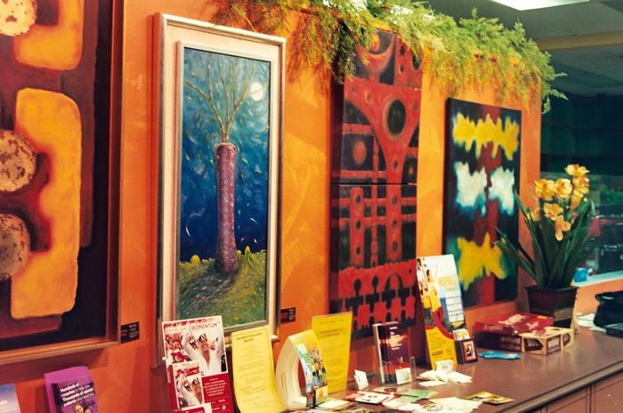 The Artwork of Hector Pedraza at Sabor 2 Cafe in Pasadena, California