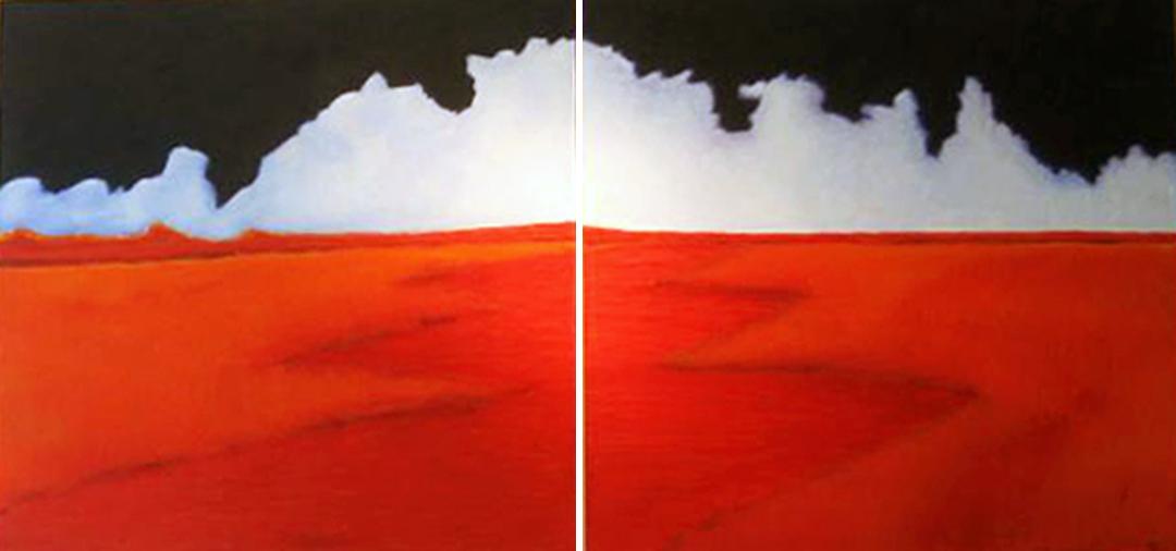 The Artwork of Hector Pedraza at Sabor 2 in Pasadena, California