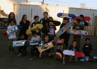 El Sereno Skatedeck Workshop - George Pantages  Skateboard Workshop, Art Exhibit, Live Music Event at The Vex 510382 2 400x284