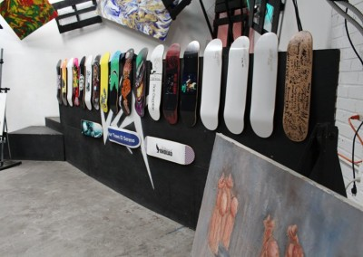 El Sereno Skateboard Workshop  Skateboard Workshop, Art Exhibit, Live Music Event at The Vex IMG 8238 400x284