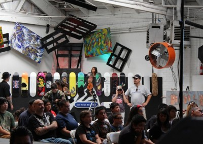 El Sereno Skateboard Workshop  Skateboard Workshop, Art Exhibit, Live Music Event at The Vex IMG 8251 400x284