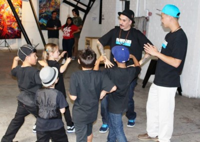 El Sereno Skateboard Workshop - Funny Bones Crew