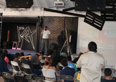 El Sereno Skateboard Workshop - Muralist David Botello  Skateboard Workshop, Art Exhibit, Live Music Event at The Vex IMG 8292 400x284