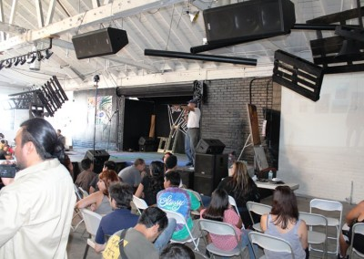 El Sereno Skatedeck Workshop - Muralist David Botello  Skateboard Workshop, Art Exhibit, Live Music Event at The Vex IMG 8299 400x284