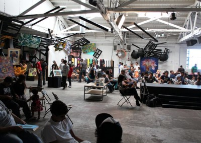 El Sereno Skateboard Workshop  Skateboard Workshop, Art Exhibit, Live Music Event at The Vex IMG 8300 400x284