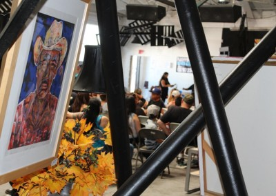 El Sereno Skateboard Workshop  - Art Exhibit by La Mancha Gallery