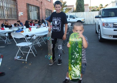 El Sereno Skateboard Workshop  Skateboard Workshop, Art Exhibit, Live Music Event at The Vex IMG 8335 400x284