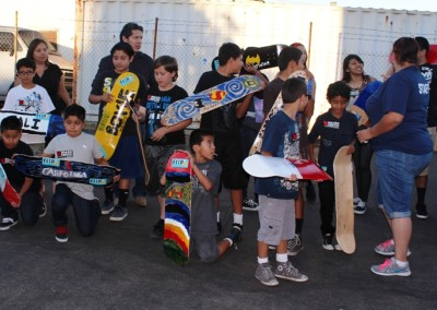 El Sereno Skateboard Workshop  Skateboard Workshop, Art Exhibit, Live Music Event at The Vex IMG 8347 400x284