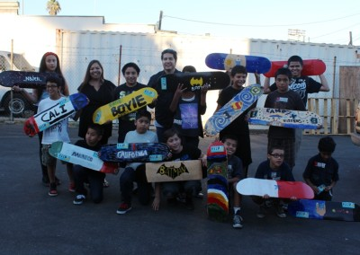 El Sereno Skateboard Workshop  Skateboard Workshop, Art Exhibit, Live Music Event at The Vex IMG 8349 400x284