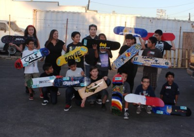 El Sereno Skateboard Workshop  Skateboard Workshop, Art Exhibit, Live Music Event at The Vex IMG 8350 400x284