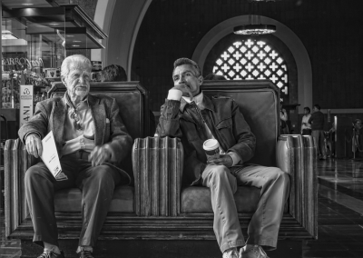 "Two Gentleman At Union Station by Richard Smith Photography  ""Moments In Time"" The Photography of Richard Smith TwoGentlemanAtUnionStation 400x284"