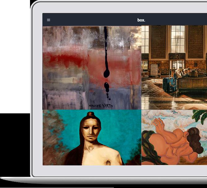 La Mancha Gallery Online Store  Store mockUp