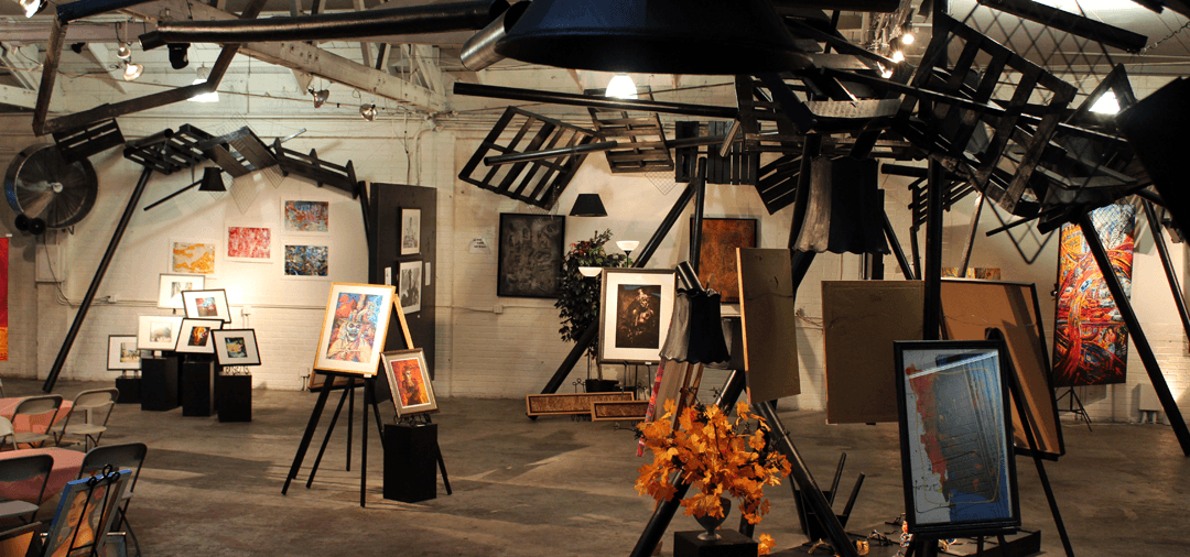 Art Installation and fashion event Production by La Mancha Gallery