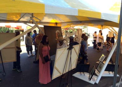 Central Avenue Jazz Festival  - Art Pavilion by La Mancha Gallery  19th Central Avenue Jazz Festival Central Avenue Jazz Festival 17 400x284