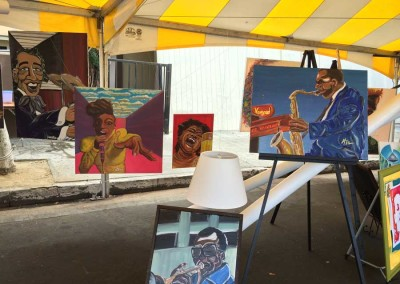 Central Avenue Jazz Festival  - Artist Kevin T. Williams  19th Central Avenue Jazz Festival Central Avenue Jazz Festival 59 400x284