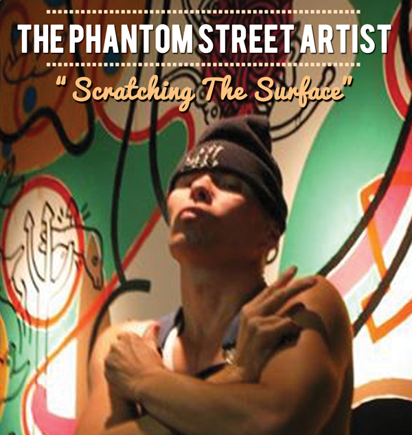 """Scratching The Surface"" The Phantom Street Artist performance lecture"