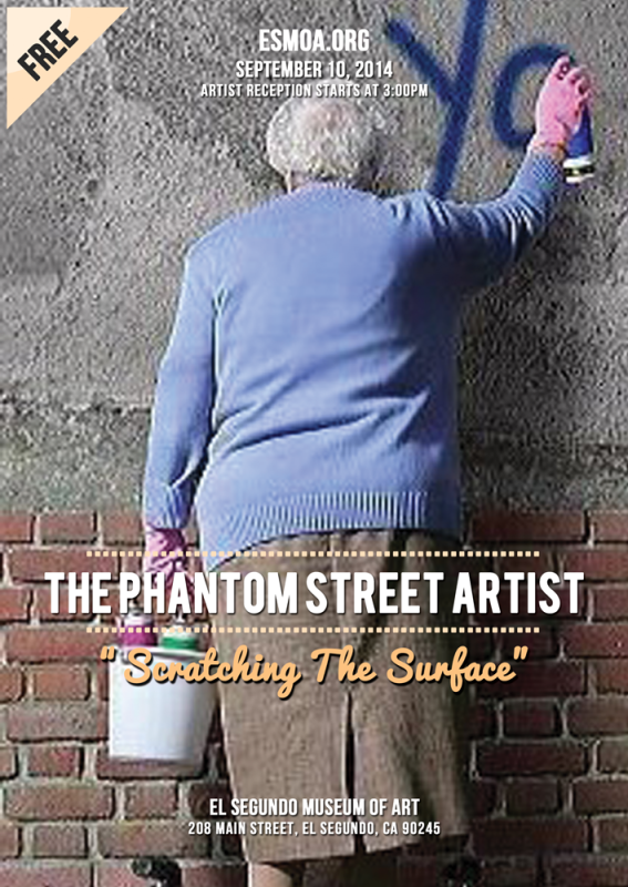 Scratching The Surface by The Phantom Street Artist