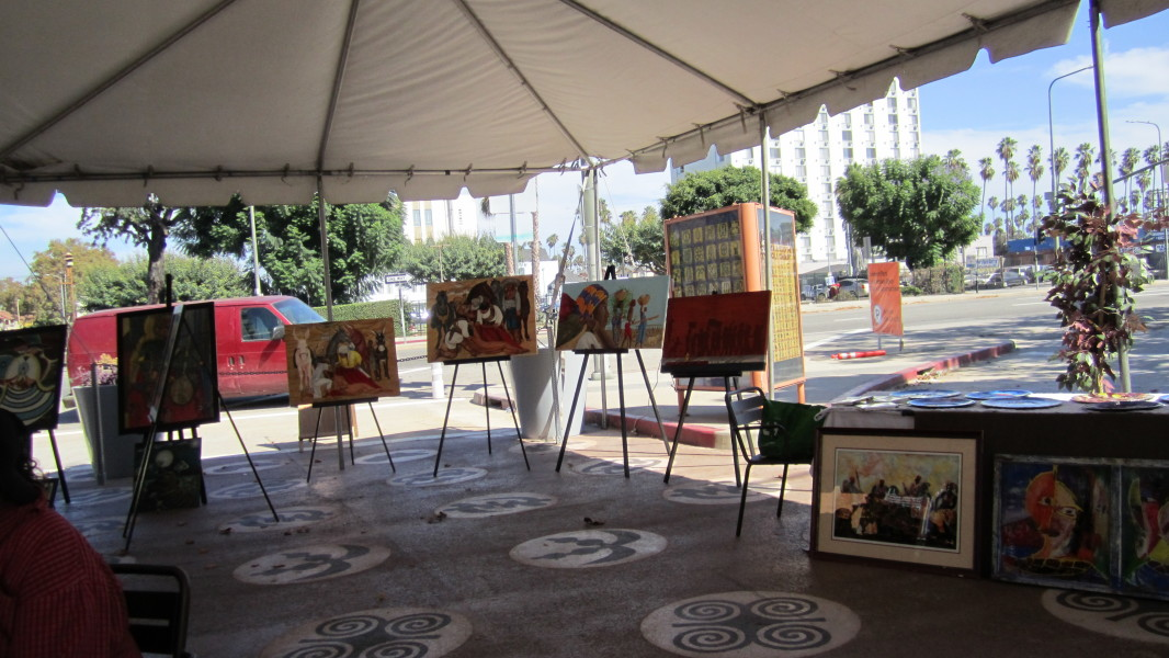 2nd Annual Leimert Park Vision Theater Festival Of Stage Readings & Art Exhibit  2nd Annual Leimert Park Festival Of Stage Readings & Art Exhibit IMG 0726 e1450203668697