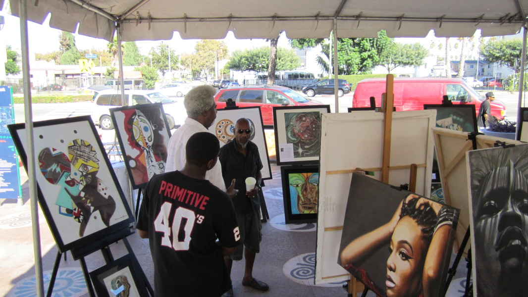 2nd Annual Leimert Park Vision Theater Festival Of Stage Readings & Art Exhibit  2nd Annual Leimert Park Festival Of Stage Readings & Art Exhibit IMG 0794 e1450204549158