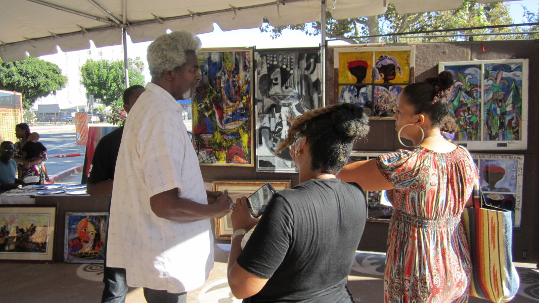 2nd Annual Leimert Park Vision Theater Festival Of Stage Readings & Art Exhibit  2nd Annual Leimert Park Festival Of Stage Readings & Art Exhibit IMG 0797 e1450204612361