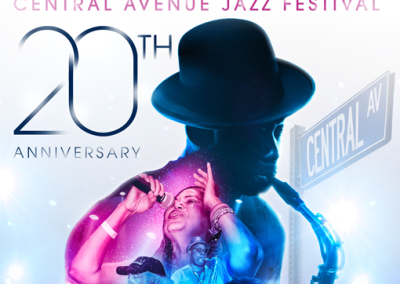 20th Central Avenue Jazz Festival Arts Pavilion community events exhibition projects fine arts music fashion traveling exhibits cultural relativism consulting social media la mancha gallery Arts, Culture, Music, Fashion and Community Events 510382Feat 400x284