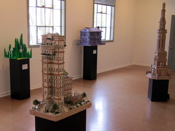 Ron Zeno Cardboard Sculptures at The Armory Arts Center  Portfolio 700x525 2 610x458