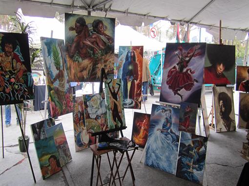 MLK Kingdom Parade Art Exhibit