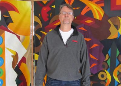 Artist Donald Frazell  MLK Kingdom Parade Art Exhibit 900x506 400x284