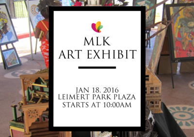 Martin Luther King Parade 2016 Art Exhibit