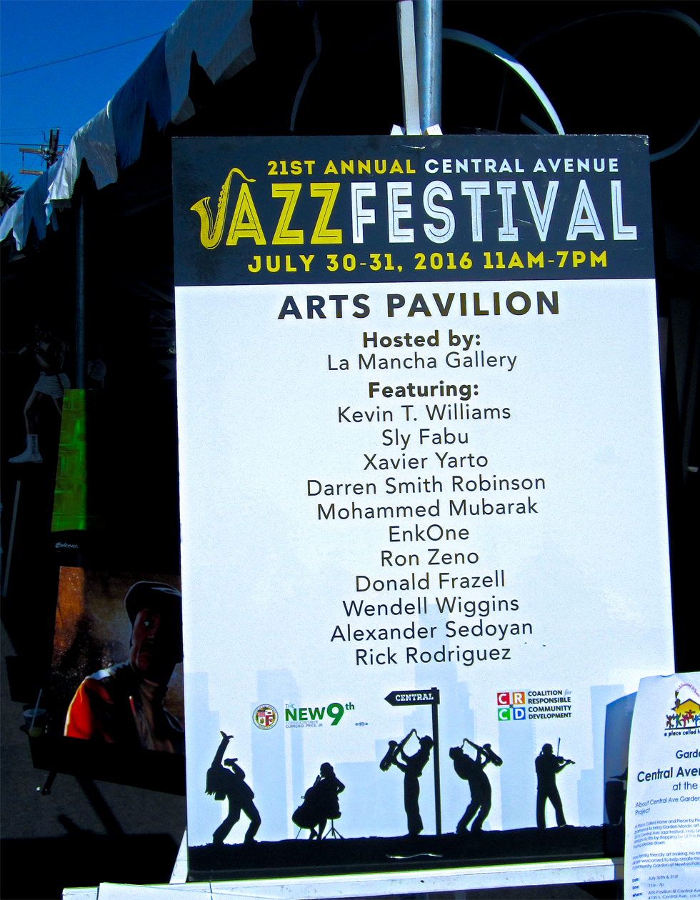 21st Central Avenue Jazz Festival Arts Pavilion 980x1260