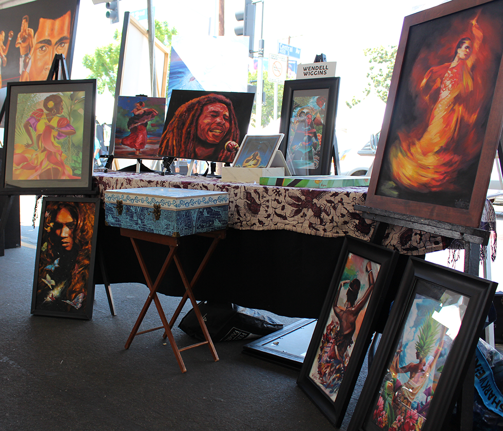 The 22nd Central Avenue Jazz Festival Arts Pavilion Hosted by La Mancha Gallery