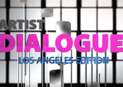 Artist Dialogue featuring Artist Richard M. Smith  About Us ArtistDialogue346x615 400x284