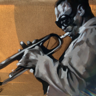 """Miles Davies"" by Phillipe Previl original 21 400x400"