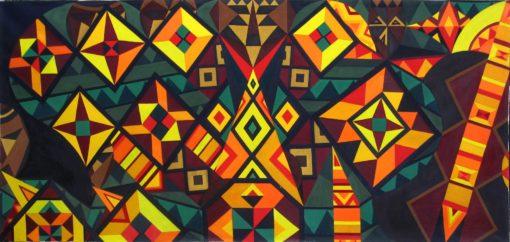 """""""Africa Brass"""" by Donald Frazell original 4 510x242"""