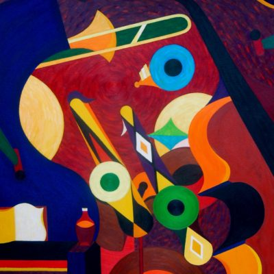 """Hard Bop"" by Donald Frazell original 400x400"