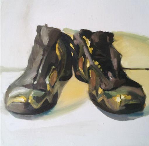 """Gold Flights"" by Phillipe Previl original 47 510x499"