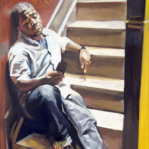 """Mike"" by Phillipe Previl original 8 510x510"