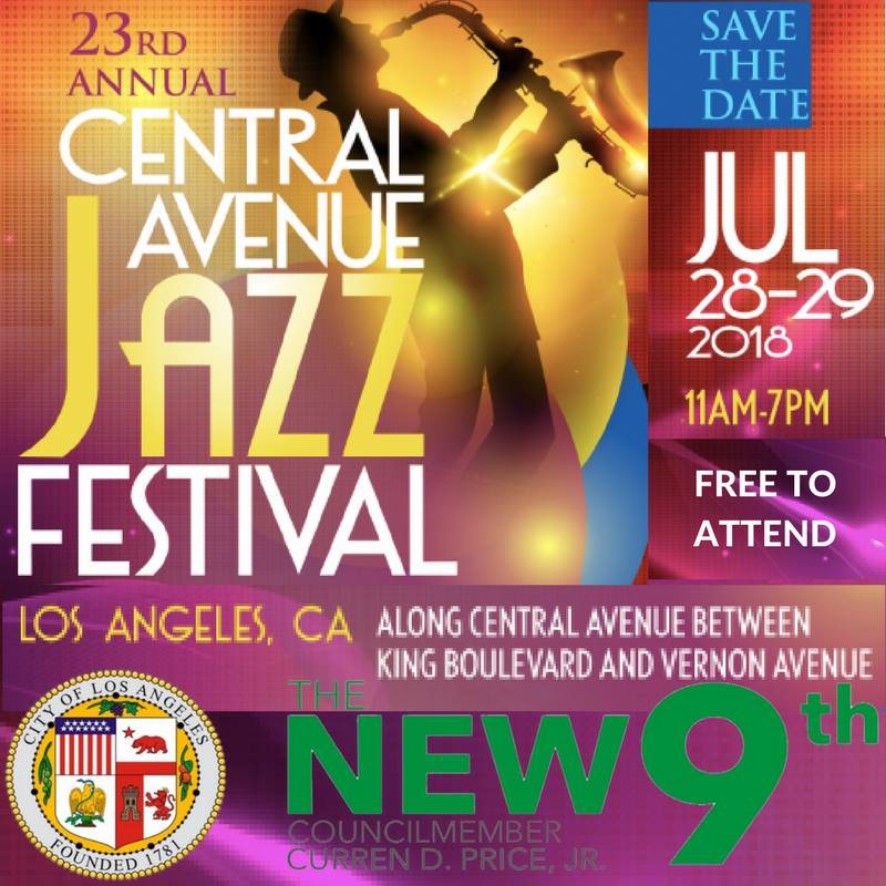 the 23rd Central Avenue Jazz Festival