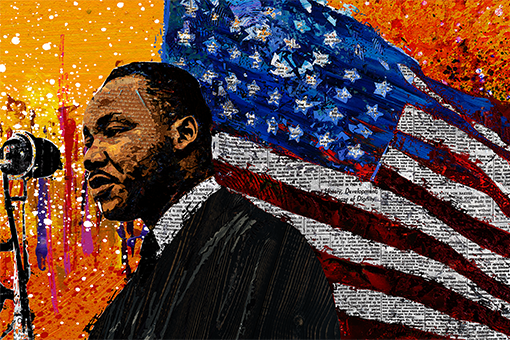 2020 MLK Kingdom Parade Art Exhibit
