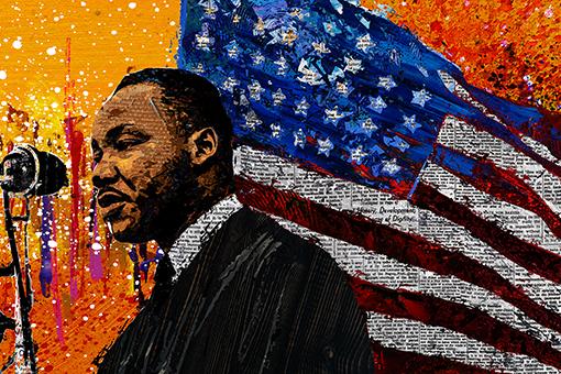 2020 MLK Kingdom Parade Art Exhibit